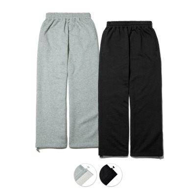 SP_STRING WIDE SWEATPANTS (기모없음) 1+1